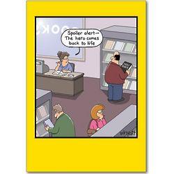Spoiler Alert Funny Birthday Card