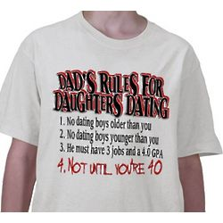 Daddys Against Daughters T-Shirt