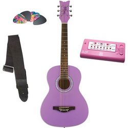 Daisy Rock Debutante Junior Acoustic Guitar Set