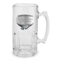 Philadelphia Eagles Engraved Beer Mug