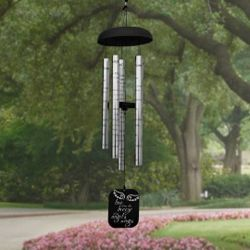 Personalized Angel Wings Wind Chime
