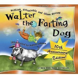 Walter the Farting Dog Children's Book