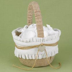 Rustic Romance Flower Basket