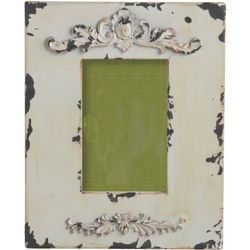 Rustic Chic Ivory Wood Photo Frame