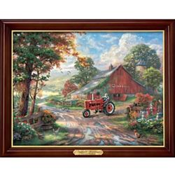 Thomas Kinkade Farmall Heritage Illuminating Canvas Print