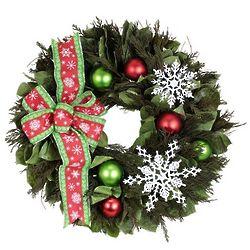 Snowflake Sparkle Wreath