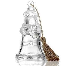 2013 Marquis Snowman Bell Christmas Ornament