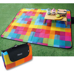 Pixel Happy Outdoor Blanket