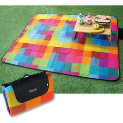 Pixel Happy Outdoor Blanket