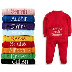 Personalized Baby Long Johns