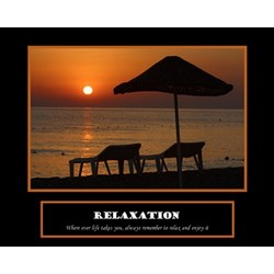 Relaxation Premium Luster Print