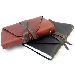Leather Messenger Journal
