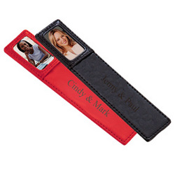 Leather Photo Bookmark