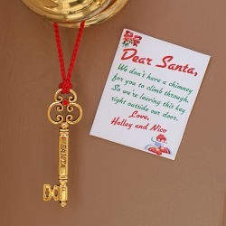 Personalized Santa Key