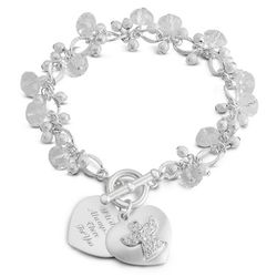 Expressions Guardian Angel Bracelet