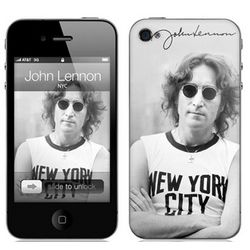 John Lennon New York City AT&T/ VZW iPhone 4 Protective Skin