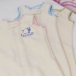 Personalized Organic Baby Sleep Sack