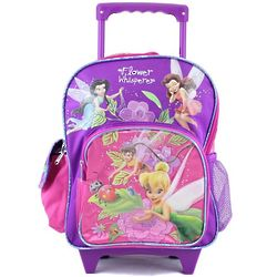 Tinkerbell Toddler Rolling Backpack