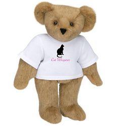 Cat Whisperer Teddy Bear