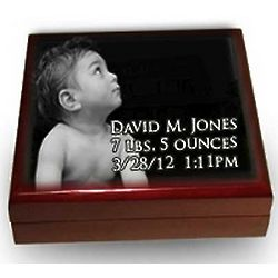Child's Personalized Memory Box