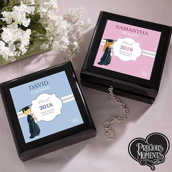 Precious Moments Personalized Graduation Keepsake Box