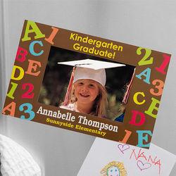 Graduation Memories Personalized Refrigerator Magnet Frame