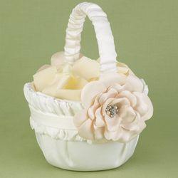 Love Blossoms Flower Girl Basket