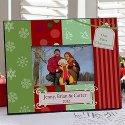Family Christmas Personalized Frame