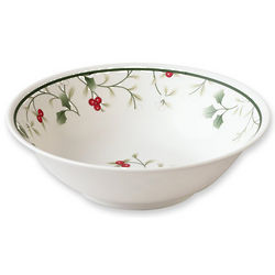 Winterberry Melamine Soup and Cereal Bowl