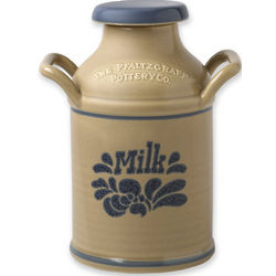 Folk Art Milk Can