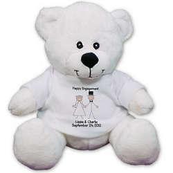 Personalized Wedding Couple Teddy Bear