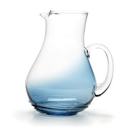 Cobalt Swirl Design Pitcher