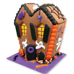 Ready Made Halloween Gingerbread House