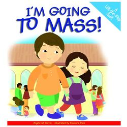 I'm Going to Mass: Lift-the-Flap Children's Book