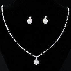 Single Pearl Jewelry Set