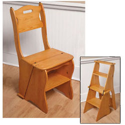 Library Step Stool Chair