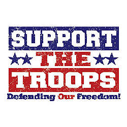 Support The Troops Patriotic T-Shirt
