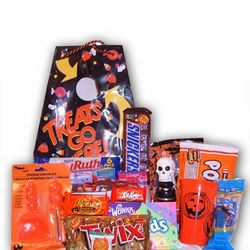 Trick-or-Treat Halloween Gift Bag