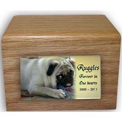 Cube Pet Memorial Urn