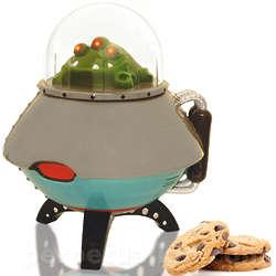 UFO Cookie Jar