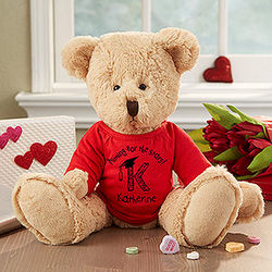 Personalized Aiming For The Stars Kid's Graduation Teddy Bear