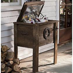 Wooden Rustic Cooler