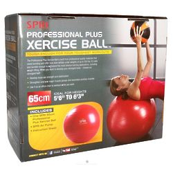 Professional Plus Xercise Ball with Pump