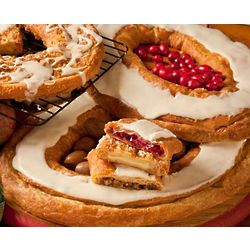 Scandinavian Christmas Kringle Pastries