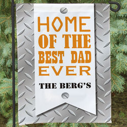Best Dad Garden Flag