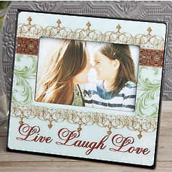 Live, Love, Laugh Picture Frame Favors
