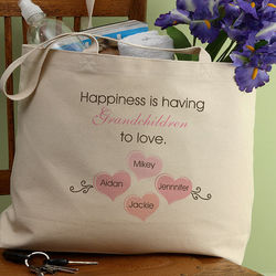 Personalized Happiness is Children Tote Bag