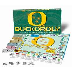 University of Oregon Duck-opoly Monopoly Game