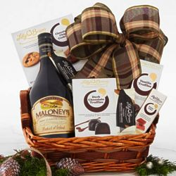 Maloney's Irish Country Cream and Sweets Gift Basket