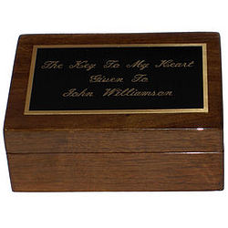 Deluxe Gentleman's Keepsake Box
